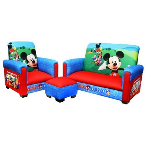 mickey mouse kids couch mickey mouse furniture kmart playroom and livingroom