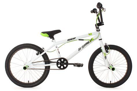Bmx Freestyle 20 quot bmx bike freestyle fahrrad rad hedonic weiss gr 220 n 360