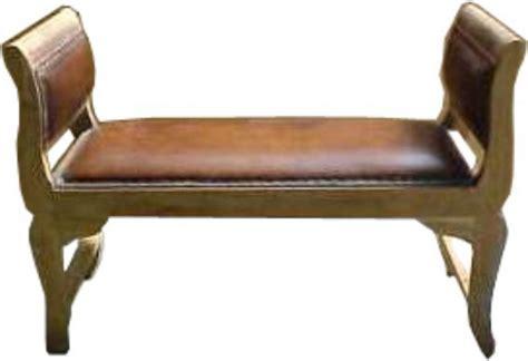 kartini bench kartini bench leather indonesia leather teak furniture