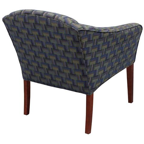 blue pattern chair ofs waterfall used side chair green blue pattern