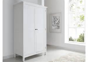 White Wood Wardrobes by Aspen 2 Door 1 Drawer Wardrobe Wardrobes Furniture