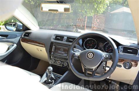 Vw Jetta 2015 Interior 2015 Vw Jetta Tdi Facelift Interior Review Indian Autos Blog