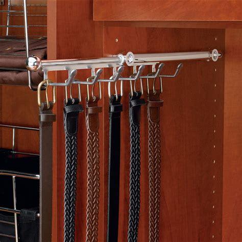 Belt Holder For Closet by Rev A Shelf Closet Belt Or Scarf Organizer Kitchensource