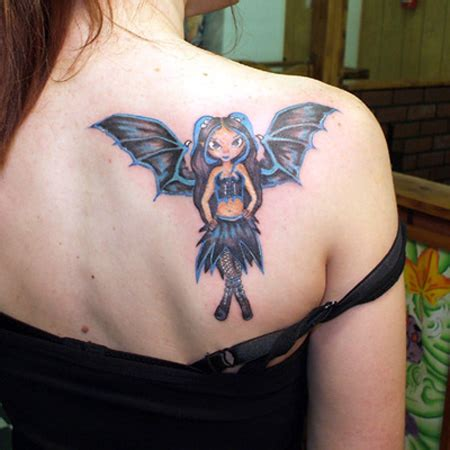tattoo for girl back shoulder 32 stunning bat tattoo designs new tattoo art pictures