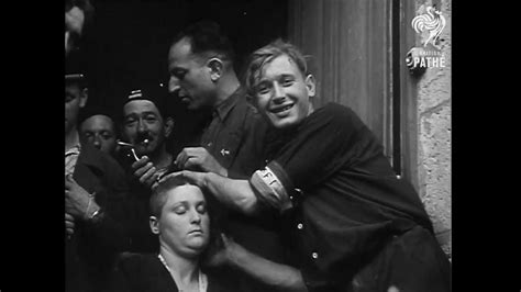 french female nazi collaborators with shaved heads marched songs in quot female collaborators punished quot youtube xd