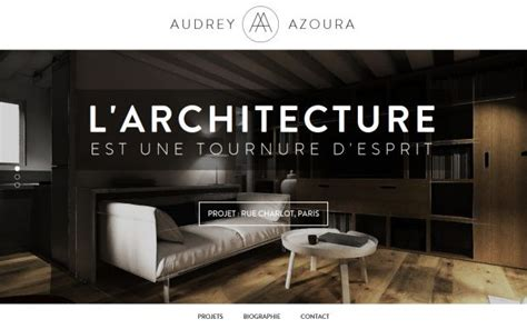interior designer website audrey azoura interior designer webdesign inspiration