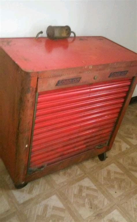 snap on tool bench 1942 snap on k300 quot rolla bench quot tool box lighted