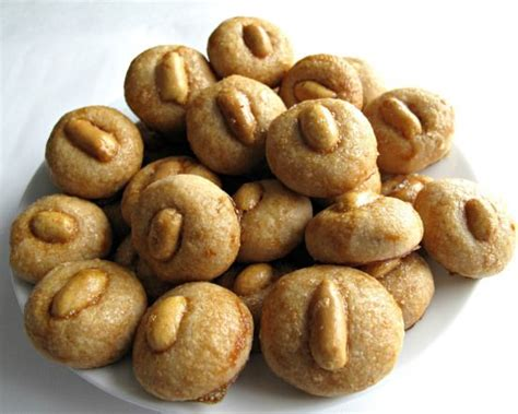 new year peanut cookies calories new year peanut cookies 花生饼 recipe mondays