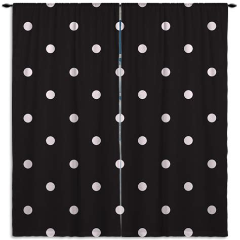 black polka dot curtains black and light pink polka dot window curtains 16