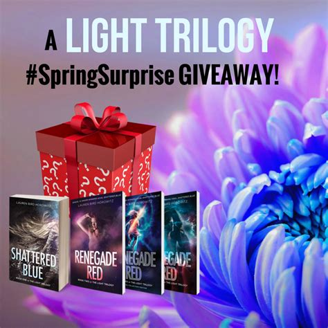 This Is Lit Giveaway by A Brand New Light Trilogy Springsurprise Giveaway