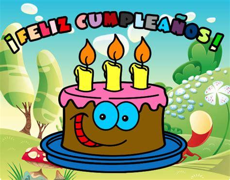 imagenes de feliz cumpleaños infantiles dibujo de feliz cumplea 241 os pintado por nuria2003 en