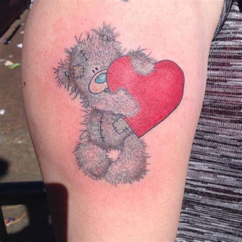 tatty teddy tattoo designs 164 best teddy tattoos images on tatty teddy