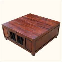 Coffee Tables With Storage Space Keeping Home Space Uncluttered With Large Storage Coffee