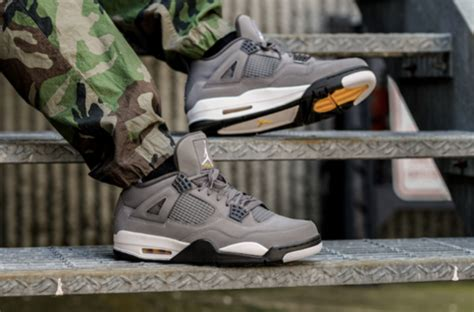 Air 4 Cool Grey Buy by Where To Buy The Air 4 Cool Grey 2019 Kicksonfire
