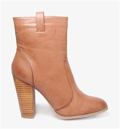 220 ber chic for cheap spied stacked heel boots