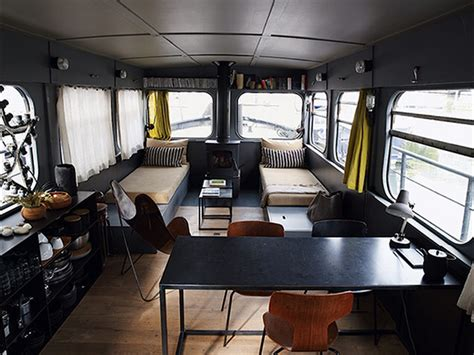 houseboat interior three of the best houseboat and barge designs