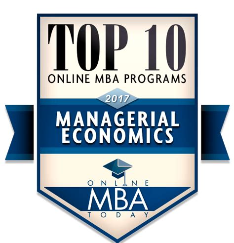 Top 10 Mba Courses by Guide To Mbas In Managerial Economics Mba