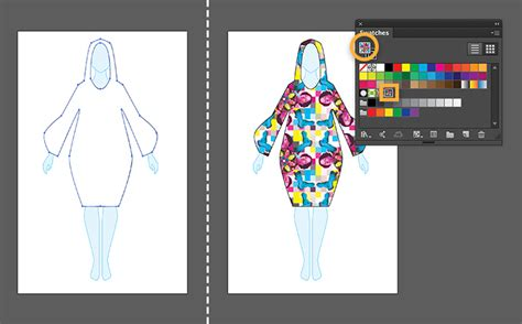 how to design clothes using illustrator textile design with photoshop and illustrator adobe