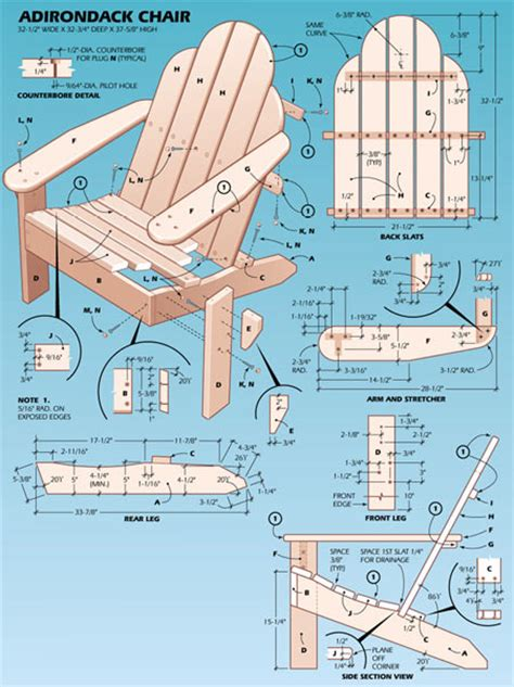 adirondack swing plans free pdf plans how to build an adirondack chair with skis