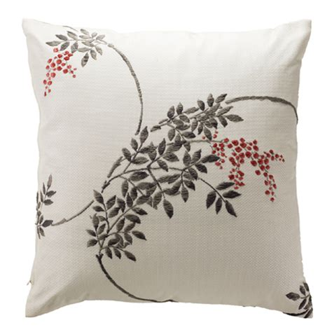 Smanate 02 Cushion Cover White Pink product item kyoto premium