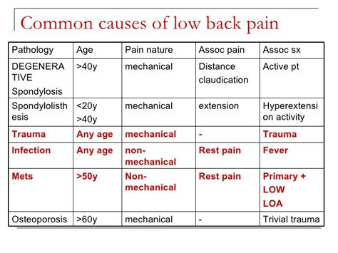 Is Backpain A Common Detox Symptom by Low Back