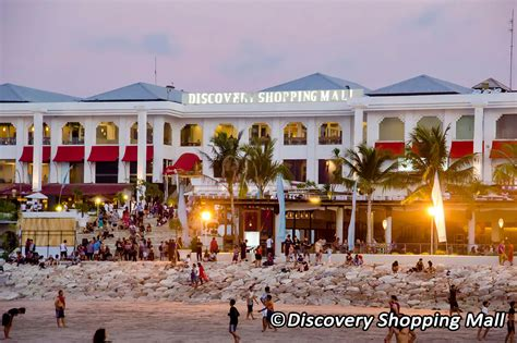 discovery shopping mall  bali kuta beach shopping