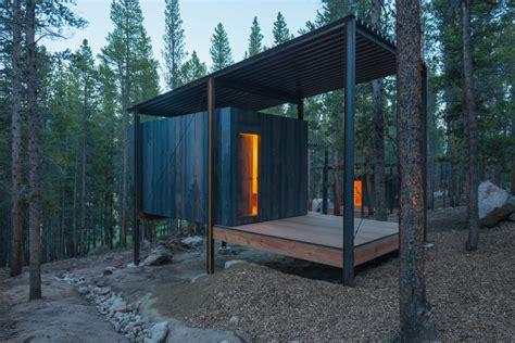 cabin architecture colorado outward bound micro cabins of