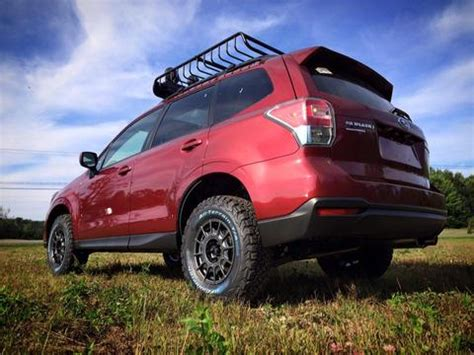 2018 subaru forester lifted lp aventure lift kit forester 2014 2018 lp aventure inc