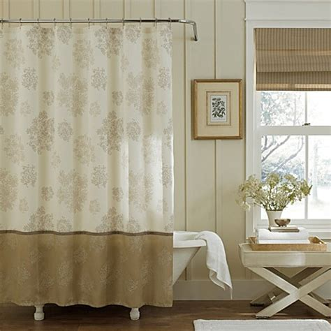 gold cream curtains buy eleanora 72 inch x 72 inch shower curtain in gold