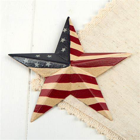 home decor star primitive americana barn star wall decor home decor