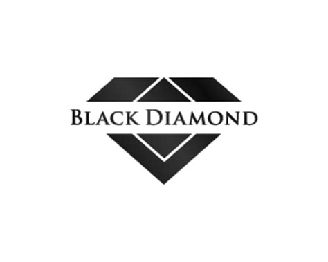 design logo diamond logo design black diamond melk pinterest black