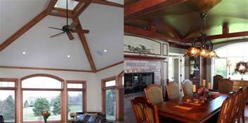 different ceiling types two different types of vaulted ceilings open spaces