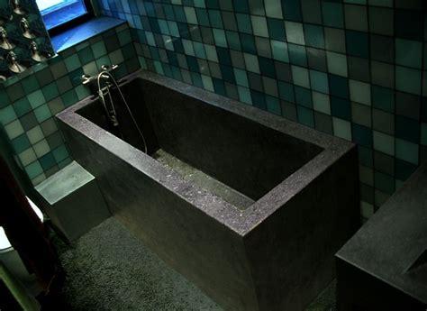concrete bathtub construction services danconia interiors design and construction