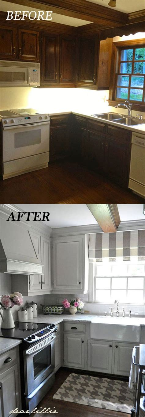 before and after 25 budget friendly kitchen makeover 25 amazing before and after budget friendly kitchen