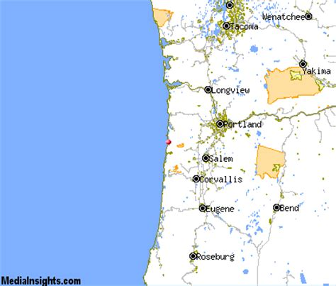 pacific city oregon map pacific city vacation rentals hotels weather map and
