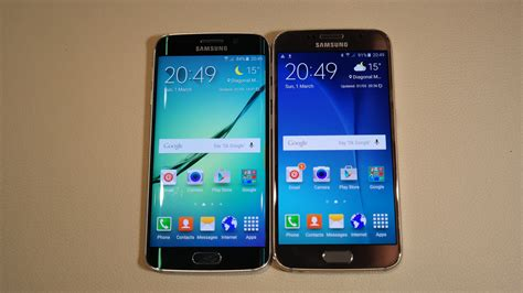 Magic Samsung S6s6 Edge samsung galaxy s6 vs samsung galaxy s6 edge on vergleich der schwesterger 228 te giga