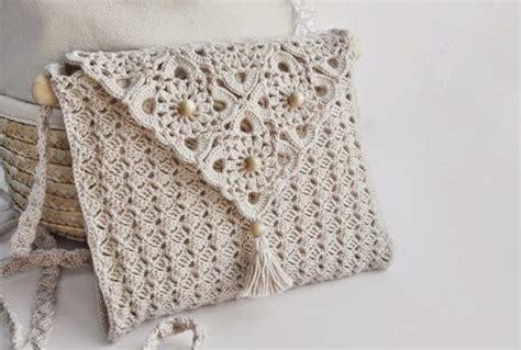 tejida al crochet con diagrama crochet y dos agujas patrones de cartera elegante tejida con ganchillo con diagramas