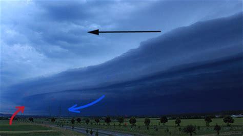 wann kondensiert luft shelf cloud wetterlexikon das wetter a bis z