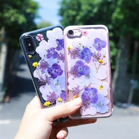 birthday gift  girls real flower iphone xs max xr