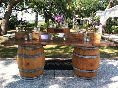 wine barrel bar table wine barrel food or drink station marquee hire wedding
