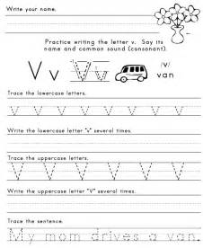 letter v worksheets new calendar template site