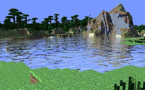 imagenes full hd de minecraft selva agua cine minecraft fondo de pantalla 4d tapeta