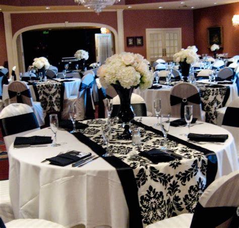 25 best ideas about black and white centerpieces on wedding centerpieces