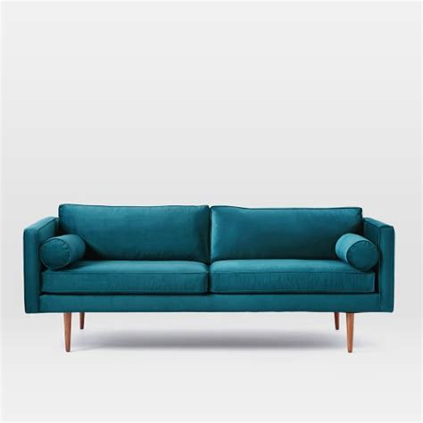 west elm monroe sofa review monroe mid century sofa west elm