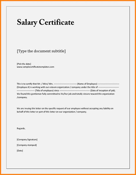 payment certificate template payment certificate sle format image collections
