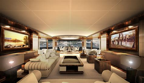 Armani Home Interiors by 67m Luxury Yacht Cbi 675 Project Interior Yacht