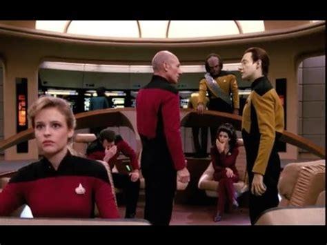 star trek: the next generation  season 4 review youtube
