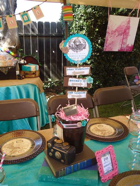 travel themed table decorations diy diy pinterest vintage travel theme based on quot oh the places you ll go