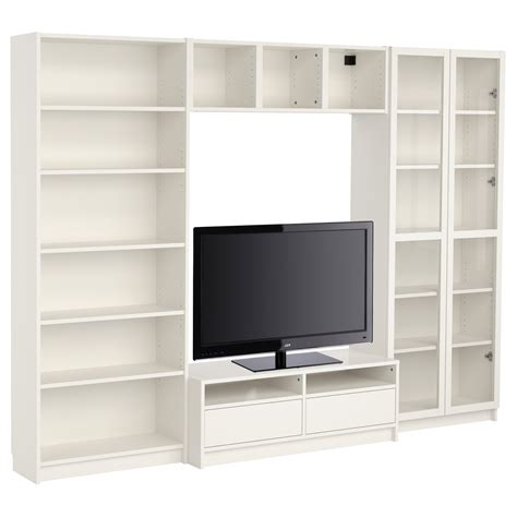 billy tv bench ikea 15 best collection of tv bookcases combination
