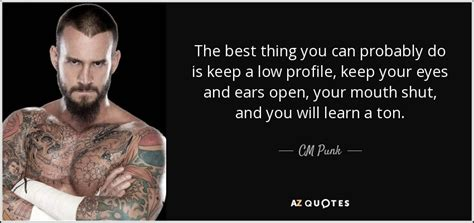 straightedge quotes cm quote the best thing you can probably do is keep a